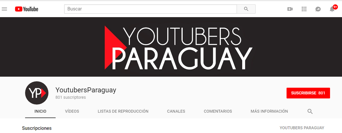 Youtube Paraguay