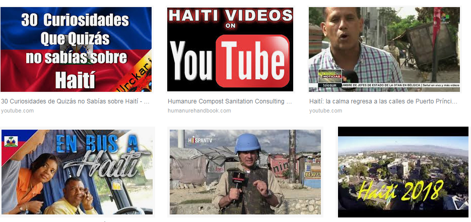 Youtube Haiti