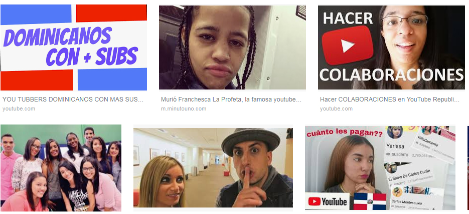 Youtube Republica Dominicana
