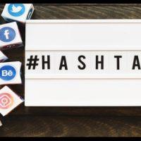 como hacer hashtag en diferentes teclados