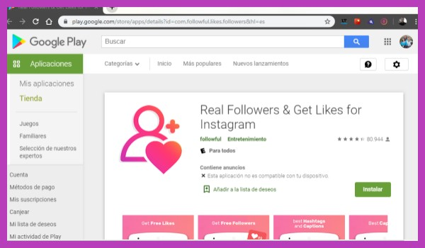 Apps útiles Para Ganar Seguidores Y Likes Reales En Instagram 2021