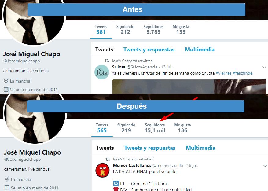 followers twitter real calidad español sin perdidas