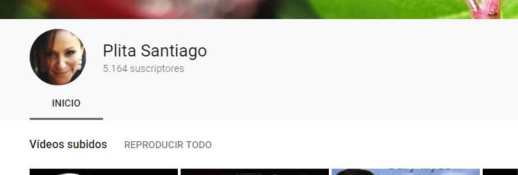 perfil de youtube